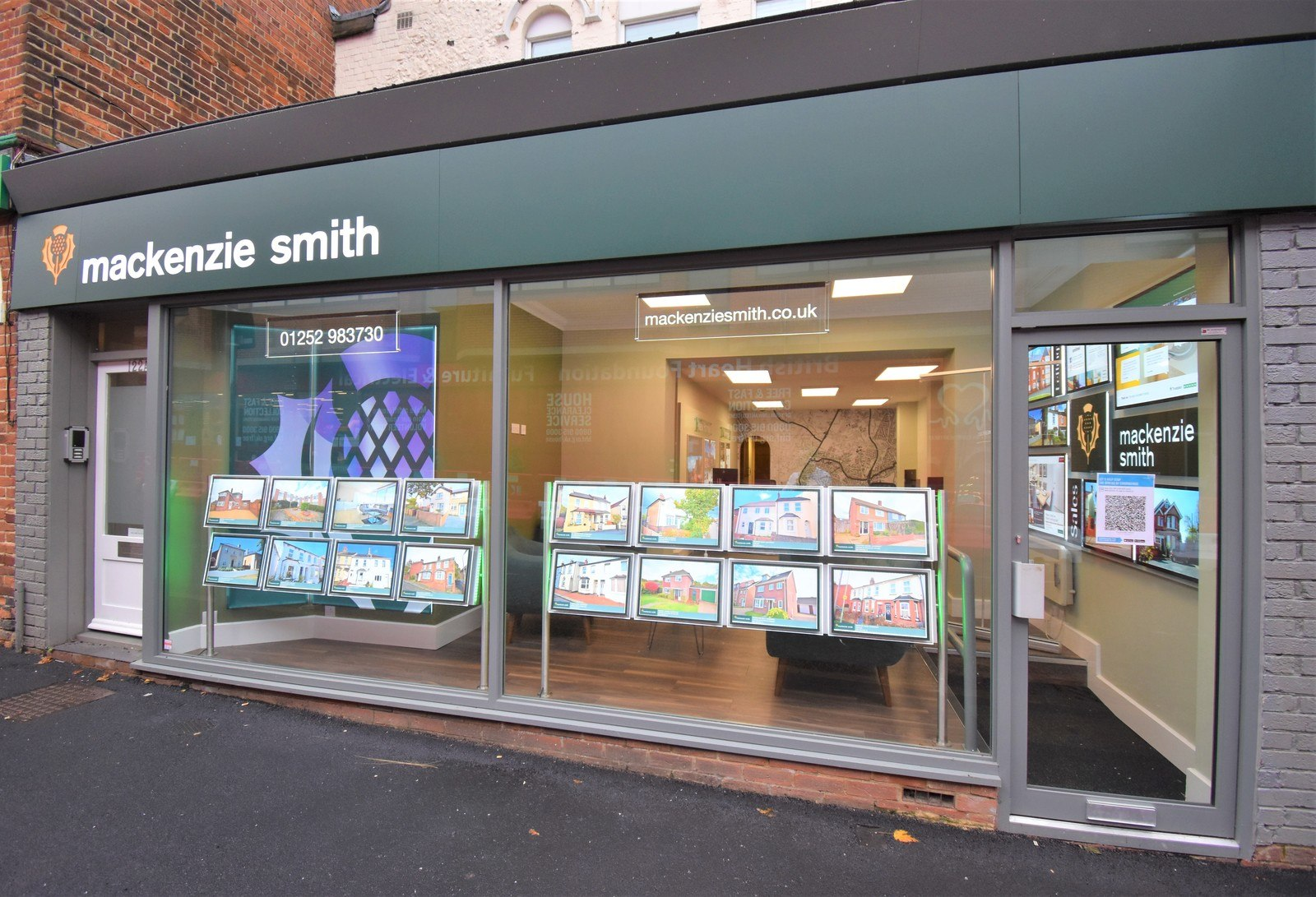 mackenzie smith estate agents in aldershot